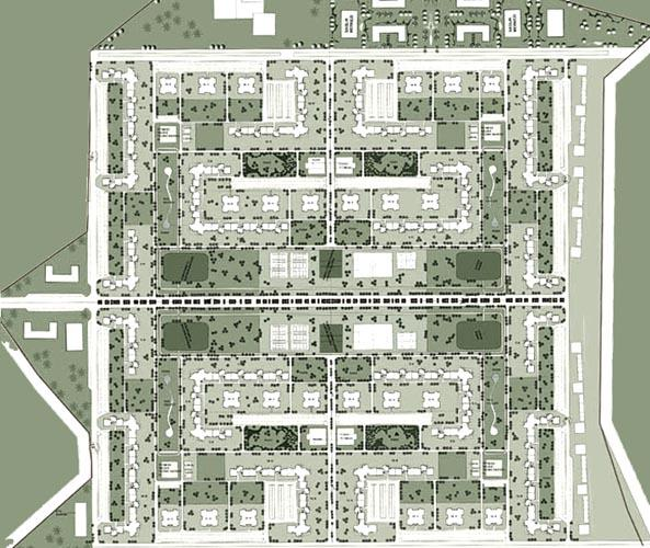 Site Plan for Social Housing | Piramit Mimarlık